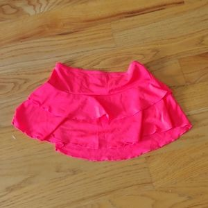Cute Swimsuit skirt cover up hot pink